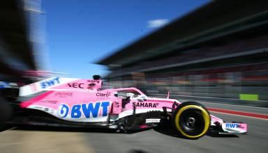 Sergio Perez Force India F1 2018