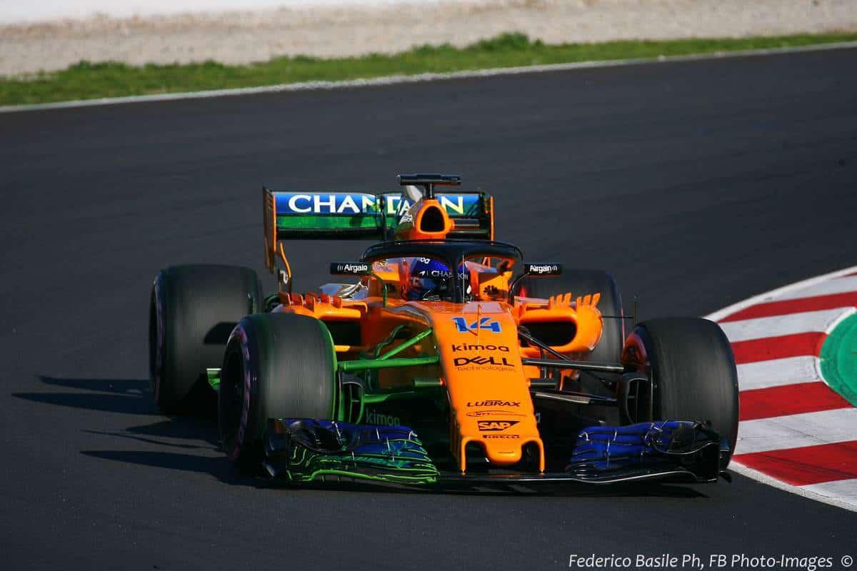Fernando Alonso McLaren MCL33 F1 2018 Renault