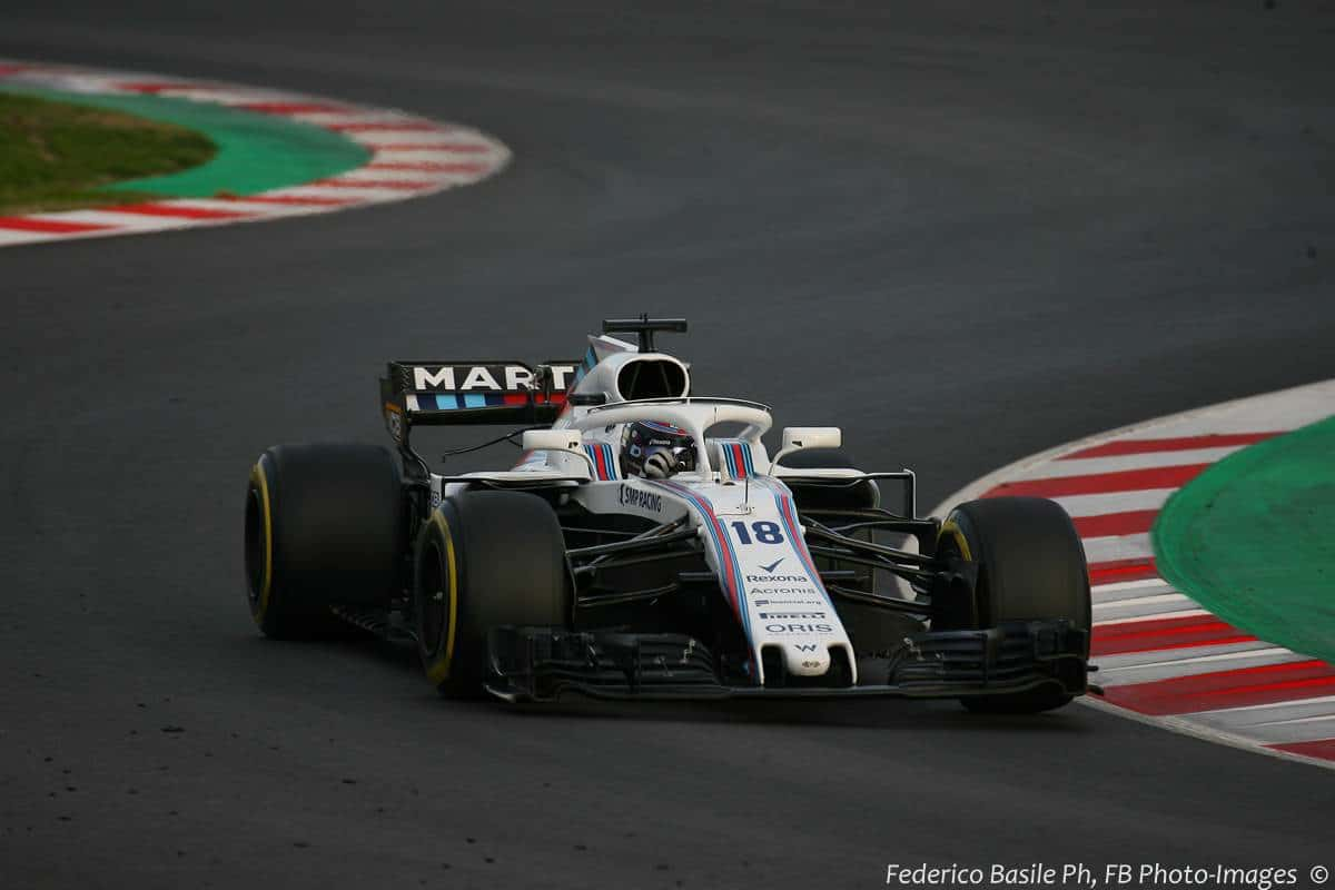 Lance Stroll Williams FW41 F1 2018