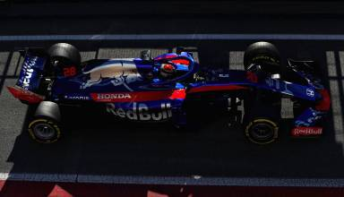 Brendon Hartley Toro Rosso Honda STR13 pitlane Barcelona F1 2018 Photo Red Bull
