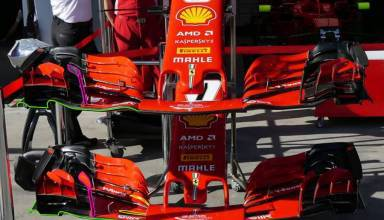 Ferrari F1 2018 SF71H front wing comparison Australian GP F1 2018 Photo AMuS MAXF1net