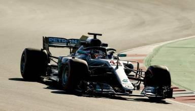 Hamilton Mercedes W09 F1 2018 Barcelona