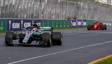 Hamilton Raikkonen Australian GP F1 2018 Photo Daimler