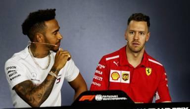Hamilton Vettel Australian GP F1 2018 press conference