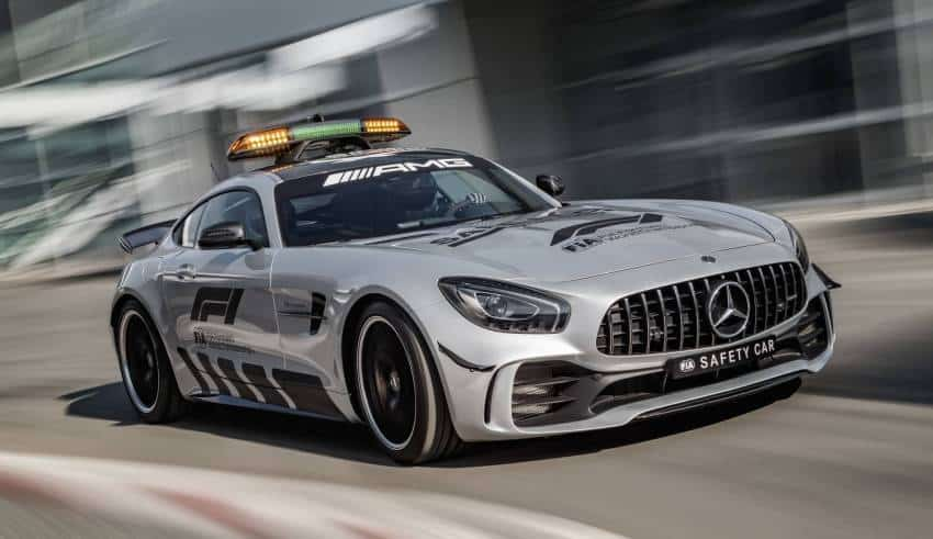 Mercedes AMG GT R F1 2018 Safety Car road Photo Daimler