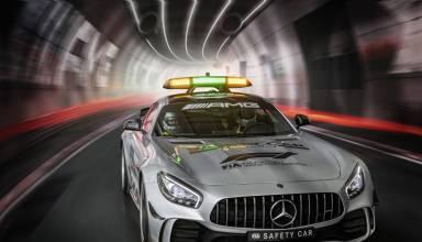 Mercedes AMG GT R F1 2018 Safety Car tunnel Photo Daimler