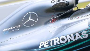 Mercedes F1 2018 W09 EQ Power engine cover hi res hd Photo Daimler edited by MAXF1net