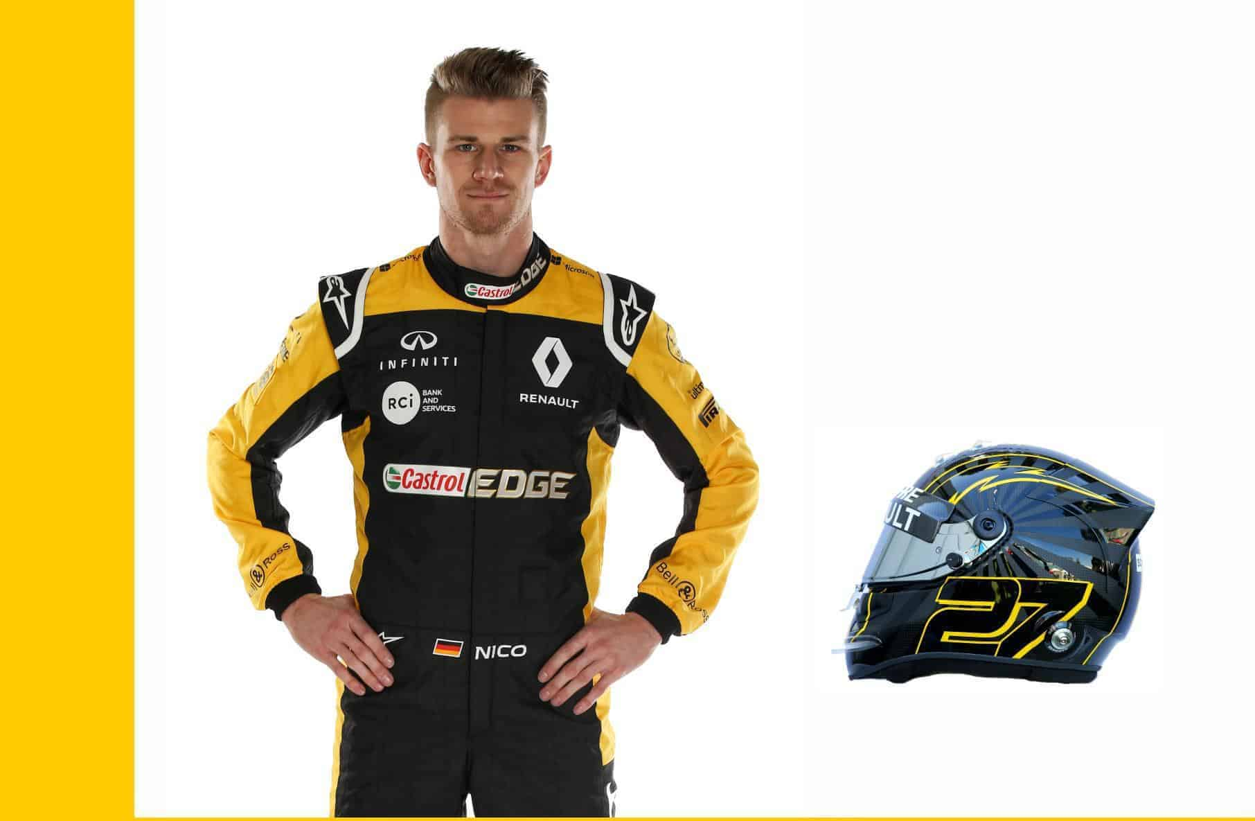 Nico Hulkenberg Renault F1 2018 drivers profile Photo MAXF1net