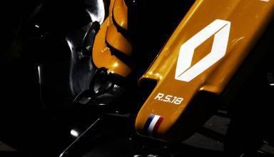 Renault RS18 nose front wing dark Australian GP F1 2018 Photo Renault
