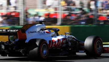 Romain Grosjean Haas VF18 Australian GP F1 2018 Photo Haas