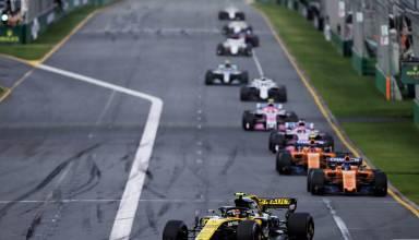 Sainz leads Alonso Australian GP F1 2018 Photo Renault