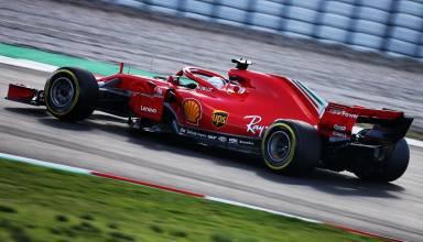 Vettel Ferrari F1 2018 SF71H Barcelona test 2