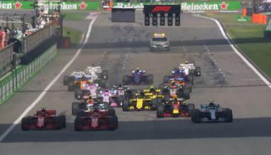 Chinese GP F1 2018 start