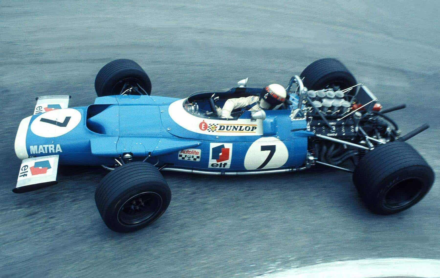Jackie Stewart Monaco GP F1 1969