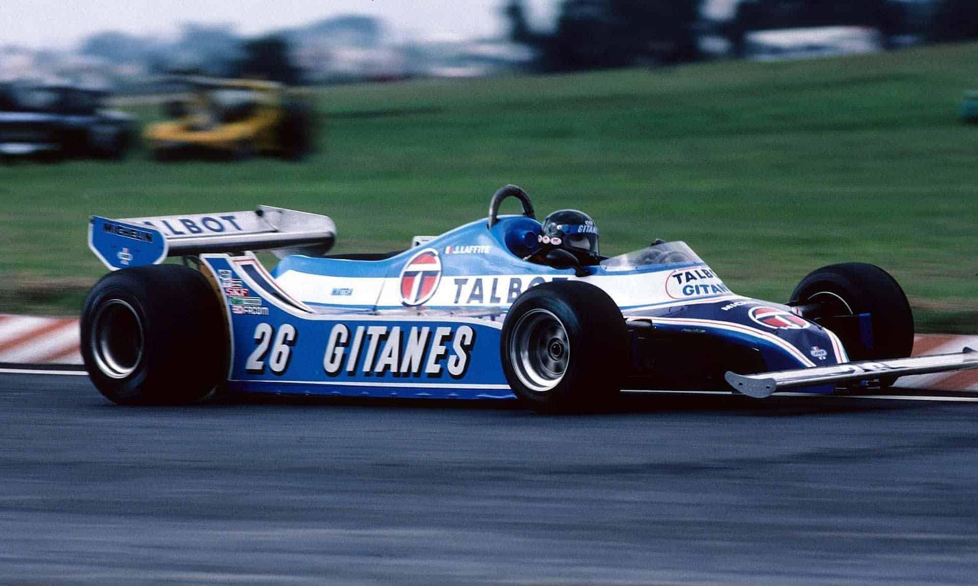 Jacques Laffite Ligier Ford Argentina GP Buenos Aires F1 1979