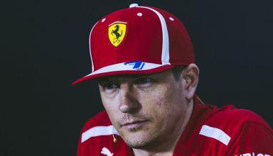Kimi Raikkonen Ferrari SF71H Bahrain GP F1 2018 press conference Photo Ferrari