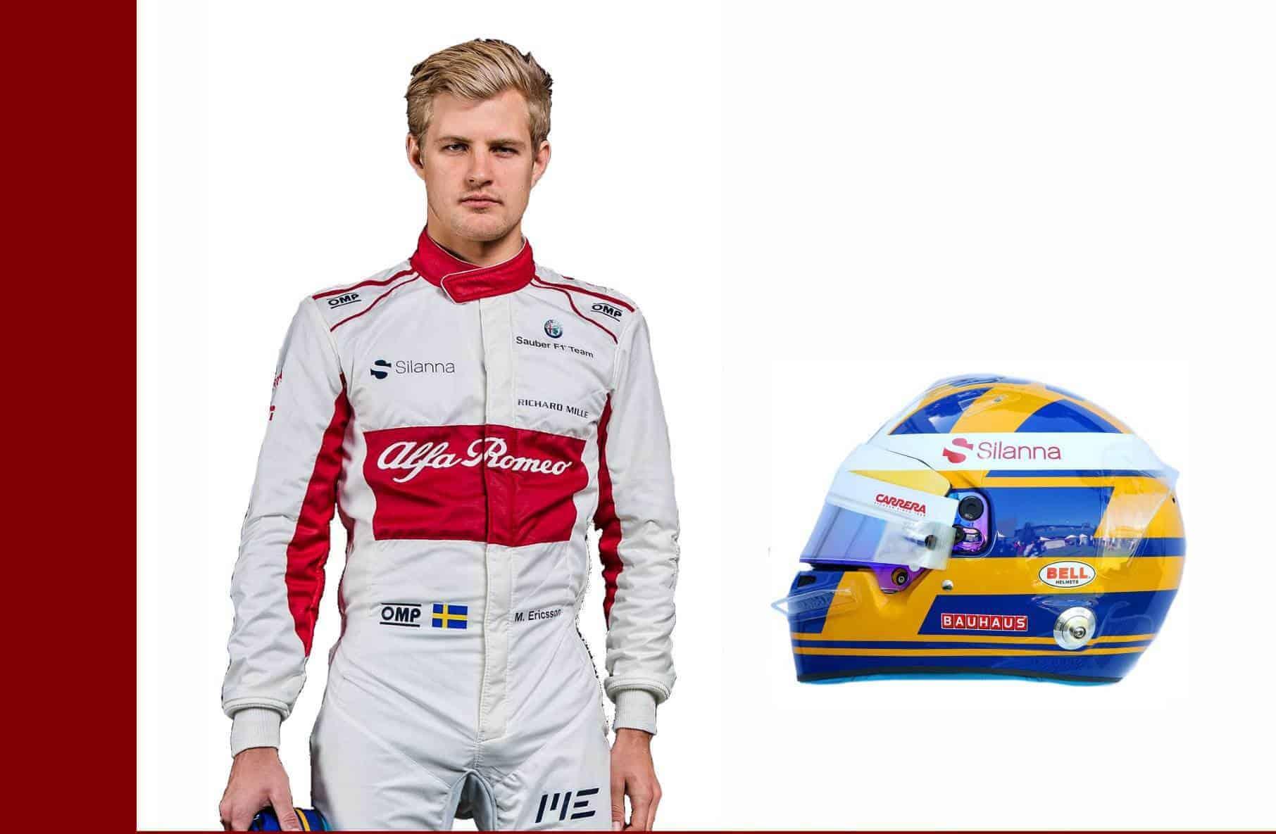 Marcus Ericsson Alfa Romeo Sauber F1 2018 drivers profile