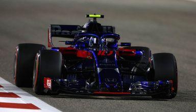 Pierre Gasly Toro Rosso Honda Bahrain GP F1 2018 Photo Red Bull