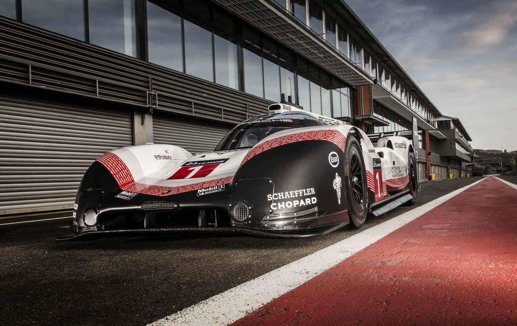 Porsche 919 Hybrid EVO Spa Francorchamps