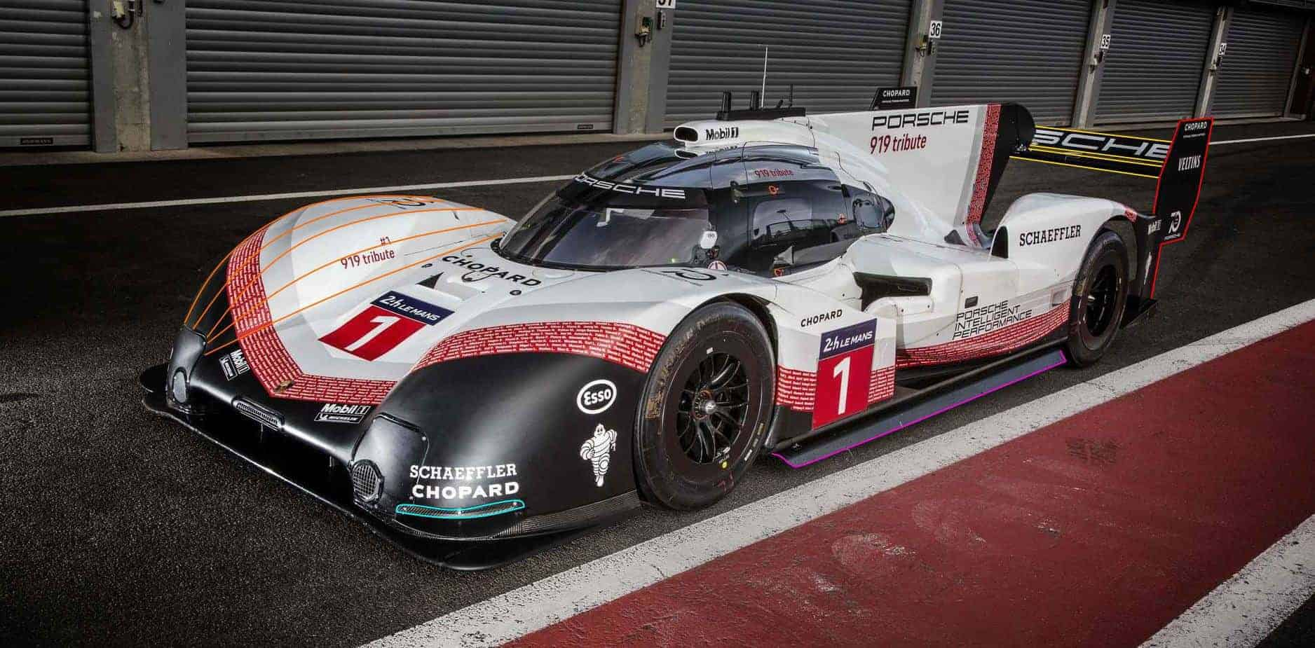 Porsche 919 Hybrid EVO side Spa Francorchamps Photo MAXF1net Porsche
