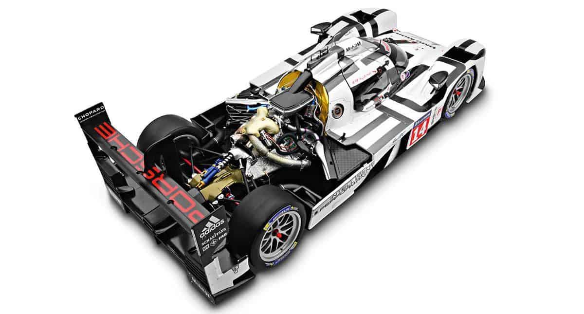 Porsche 919 Hybrid under skin