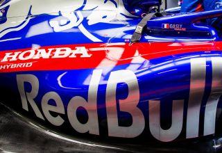 Red Bull Honda F1 2018 engine Toro Rosso STR13 Photo Red Bull