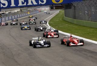 San Marino GP F1 2003 Imola start Photo Ferrari