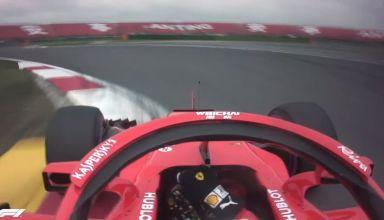 Sebastian Vettel Ferrari SF71H Chinese GP F1 2018 pole position lap onboard Youtube F1
