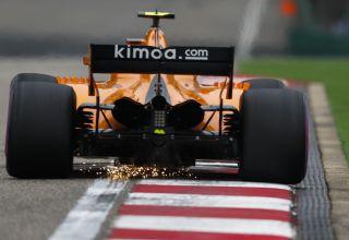 Vandoorne McLaren MCL33 Chinese GP F1 2018 Photo McLaren