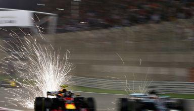 Verstappen Hamilton Bahrain GP F1 2018 Photo Red Bull