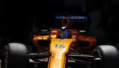 ALonso McLaren MCL33 Monaco GP F1 2018