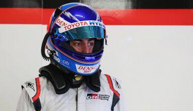 Alonso Toyota WEC 2018 Spa