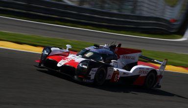 Alonso WEC Spa6h Toyota TS050 Hybrid