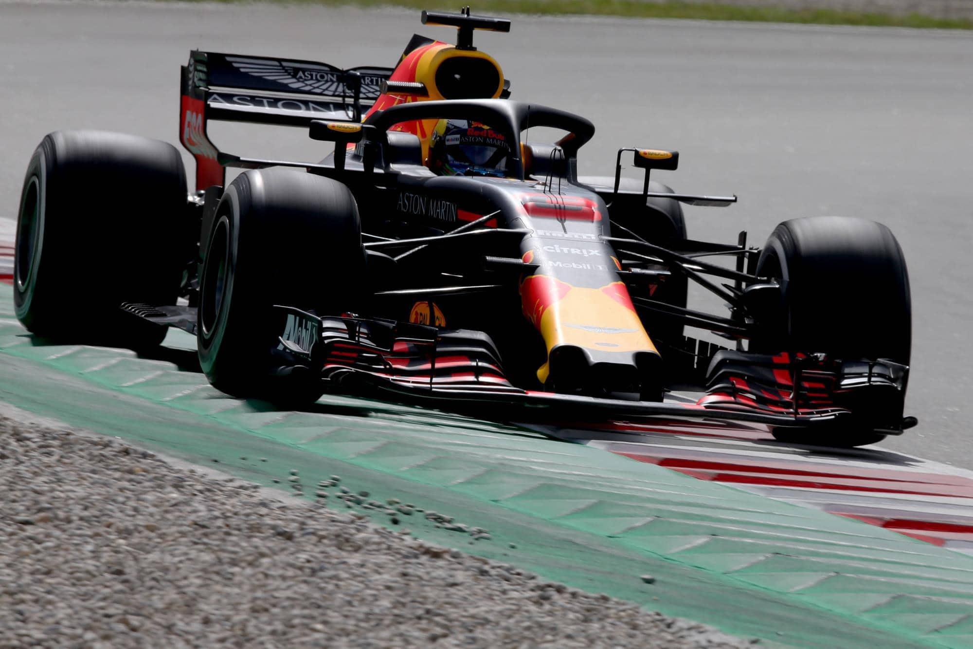 Daniel Ricciardo Red Bull RB14 Spanish GP F1 2018 Photo Red Bull