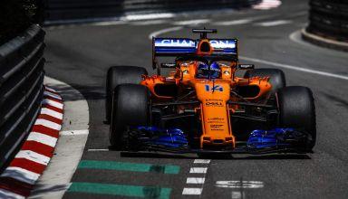 Fernando Alonso McLaren MCL33 Monaco GP F1 2018 Photo McLaren