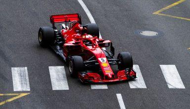 Ferrari SF71H Vettel after Loews Monaco GP F1 2018