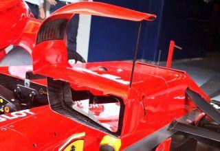 Ferrari SF71H new mirrors halo rear Photo Ferrari Albert Farega