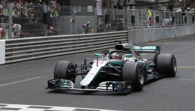Hamilton Mercedes W09 F1 2018 Monaco GP Photo Daimler
