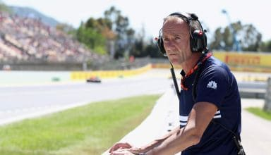 Jorg Zander Sauber F1 2018