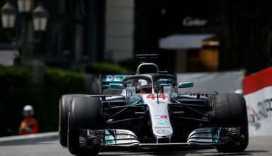 Lewis Hamilton Mercedes W09 Monaco GP F1 2018 Photo Daimler