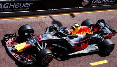 Max Verstappen Red Bull RB14 Monaco GP F1 2018 pitlane Photo Red Bull