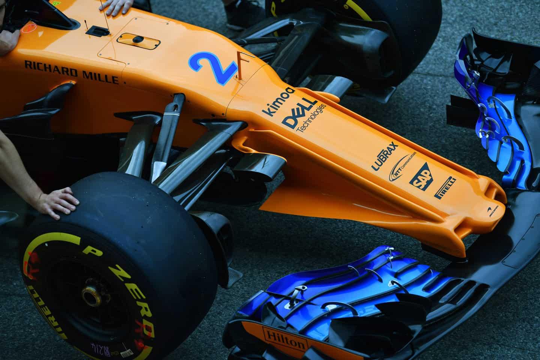 McLaren MCL33 F1 2018 new radical nose 2 Photo McLaren
