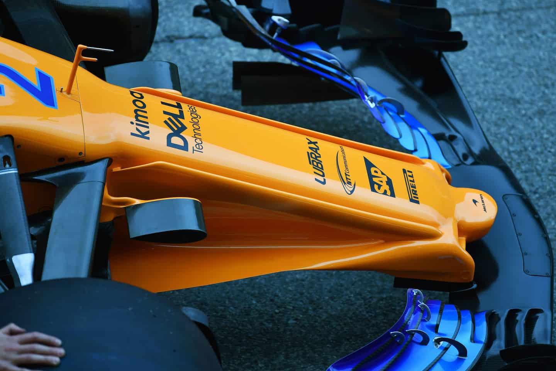 McLaren MCL33 F1 2018 new radical nose 3 Photo McLaren
