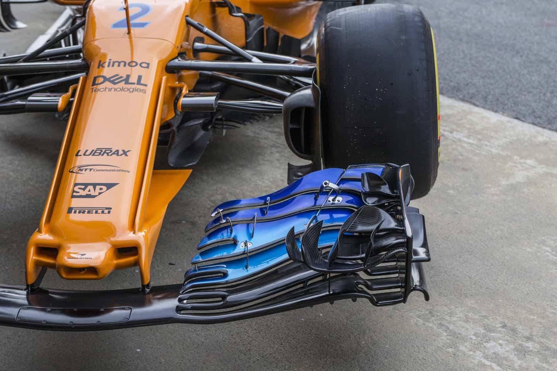 McLaren MCL33 F1 2018 new radical nose 4 Photo McLaren