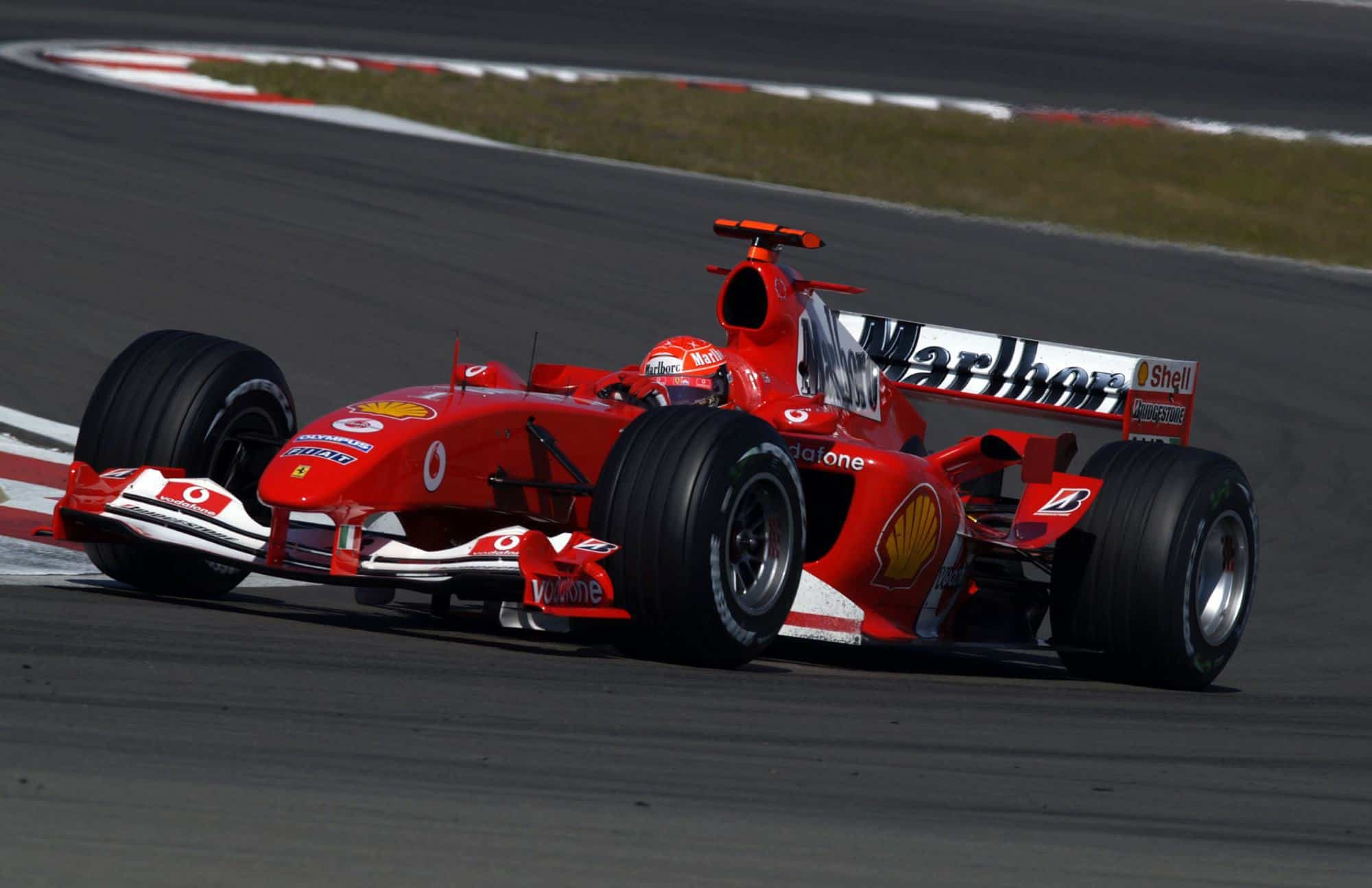2004 European GP – Schumacher dominates in his 200th F1 race