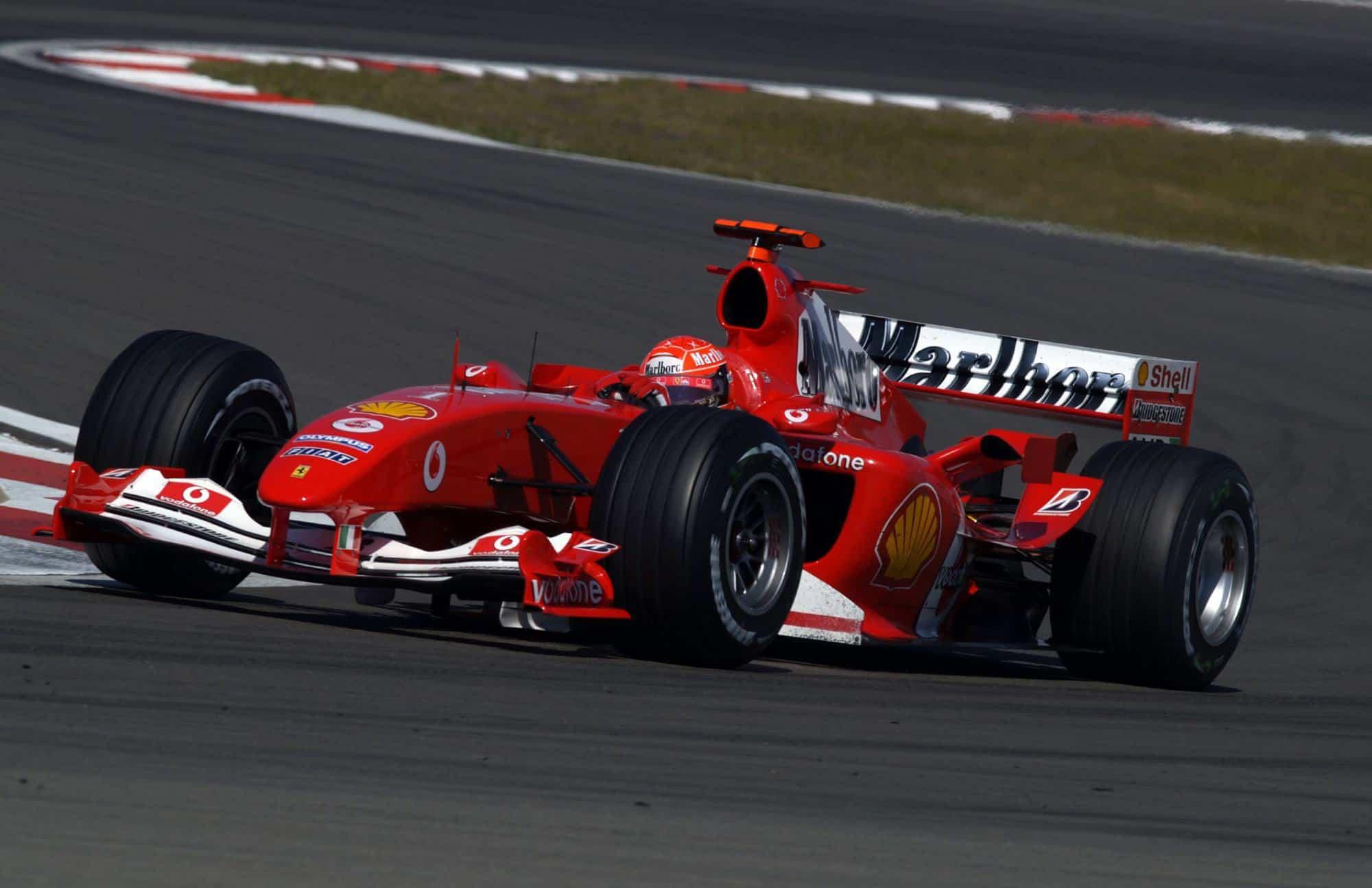 2004 European Gp Schumacher Dominates In His 200th F1 Race