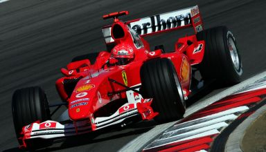Michael Schumacher Ferrari F2004 European GP Nurburgring Photo Ferrari