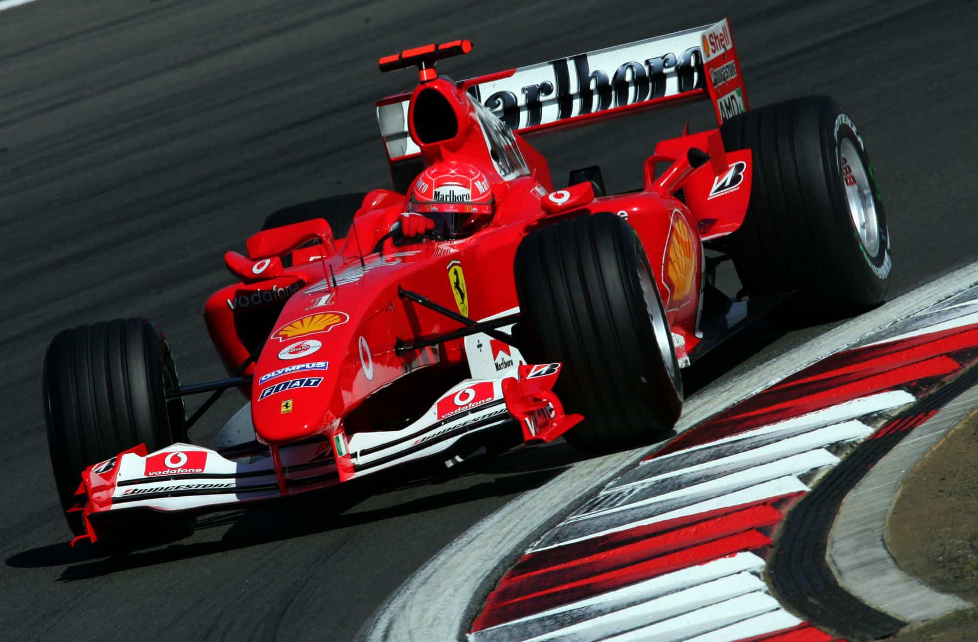 Michael Schumacher Ferrari F2004 European GP Nurburgring Photo Ferrari