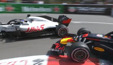 Monaco GP F1 2018 screenshot Verstappen Grosjean Photo F1 Youtube