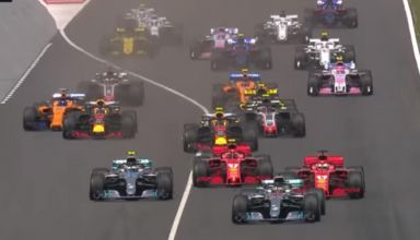 Spanish GP F1 2018 start youtube SS